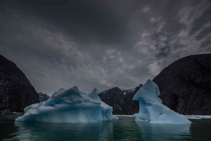 Glacier Mood Southeast Alaska; Paul Goldstein