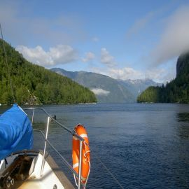 Sailing in BC - the perfect escape!